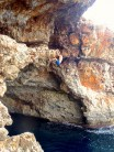 deep water soloing in mallorca