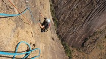 Out of Africa, 580m, 7a. Wild Madagascan climbing!