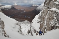 'Way up' & Torridon landscape