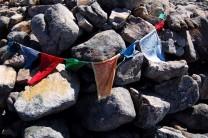 Prayer flags on Sgurr ban