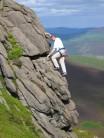 Playing on Platform Climb (Diff), Clach na Beinn