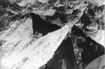 Everest and Lhotse from a Spitfire XIX