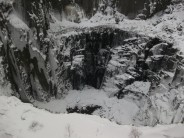Mordor and The Lost World in the depths of winter