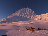 Alpamayo at Sunset from Col Camp<br>© ams558