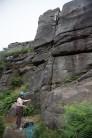 North Climb route