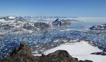 Summit View. Greenland East Coast near Kulusuk