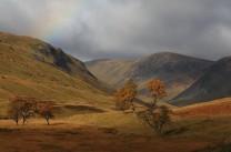 Autumn colours in Gleann Taitneach