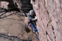 Summer climbing at Reiff, aged 16!