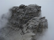 Top of the Rotstock. Viewed from the West Face of the Eiger.