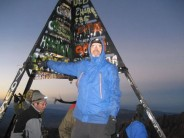 At the summit of Toubkal
