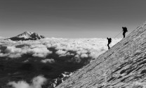 Descending from Cotopaxi