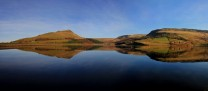 Alderman and Dovestones Quarries Reflected