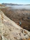 Noel on Long Stroll Slab, Ruadh Stac Beag, B Eighe