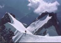 The Peuterey Ridge