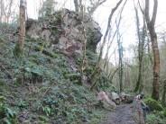 Rockfall on Raven Rock