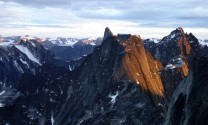 The Cirque of the Unclimbables in the Ragged Range of the Mackenzie Mountains, North West Territories, Canada.