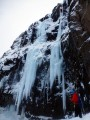 """Climbers from ISALP on """"the Daddy"""" (Pabbinn), Iceland<br>© Rob Askew"""