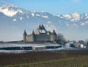 Chateau at Aigle