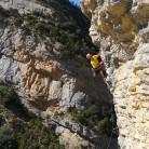 It's a cracker! sports climbing at Vilanova de Meia sector Cupula
