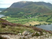 View from Red pike, Cumbria