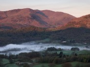 Great Carrs in the Lakes, taken at dawn from Loughrigg Fell