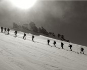 Skitour on Mount Adula (IT) or Rheinwaldhorn (DE), in Ticino.