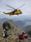 Rescue on Sgurr Dubh Mor - Skye