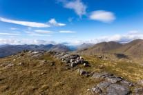 Loch Sheil from Braigh nan Uamhachan ridge