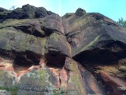 Flake Crack and Twin Caves Crack