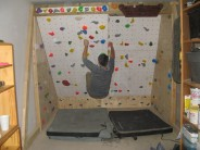 Building a freestanding climbing wall in my garage, pt 5