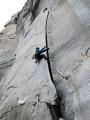 Trad climbing on granite in Cadarese, Italy<br>© astrange