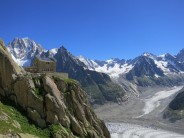 The Awesome Envers Des Aiguilles refuge.
