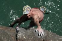 M. Cathrow on Sharktopus. 1st Ascent.