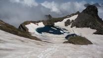 Lac de Hermitans 2840m.