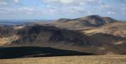 Merrick and the Dungeon Hills from Corserine<br>© Dan Bailey - UKHillwalking.com
