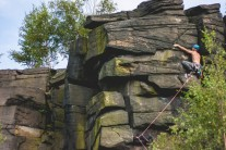 Mark on E1 Requiem of Hamlet's Ghost. Great climb