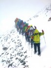 The joys of guiding the Walkers Haute Route in summer. The Meidepass Switzerland.