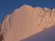 Spot the climbers on the NNE face of The Lenzspitze