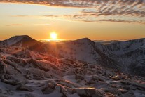 Sunset over Cairn Toul