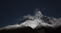 Ama Dablam, Nepal, (iso4000, 2 secs,@f4)