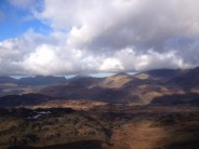 Fantastic day on Cnight looking towards Rhinogs
