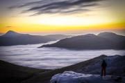 Cloud inversion on The Cobbler...<br>© euanryan