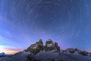 The Tre Cime South Faces<br>© James Rushforth