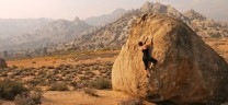 Bouldering at the buttermilks
