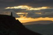 Wainman's Pinnacle at Earl crag.<br>© Simon Richardson