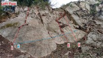 Topo of St Michael's Slab. (To be updated as new routes are added)
