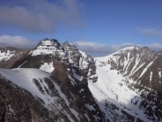 An Teallach Ridge in perfect alpine conditions