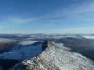 Far reaching views over Lliwedd