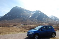 Buachaille Etive Mor climbed the first munro not enough time to do the second