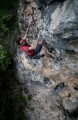Martin McKenna attempting to compose himself; however... (read comments)<br>© Rob Greenwood - UKClimbing